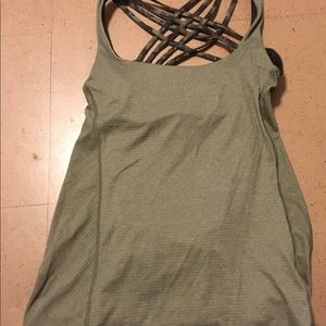 Lululemon Athletica Camo Tank Top Size 6